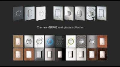 Накладные панели Grohe для исталляции писсуара