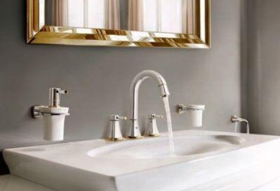 Аксессуары для ванной комнаты GROHE GRANDERA в цвете хром/золото