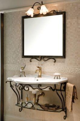 Мебель для ванной комнаты Gaia FERRO BATTUTO