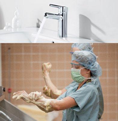 Смесители для медицинских учреждений HANSASIGNA