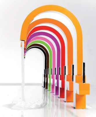 Цветные смесители TRES