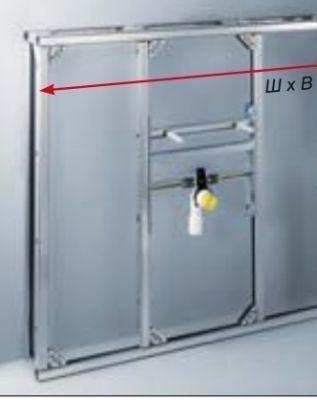 Системы инсталляции VIEGA для раковин