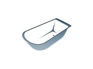 Акриловые ванны от 130 до 140 см
