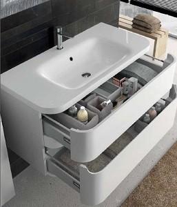 Тумбы с раковиной для ванной комнаты Berloni Bagno JOY