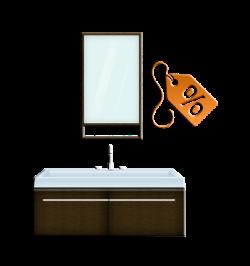 Мебель для ванной со скидкой