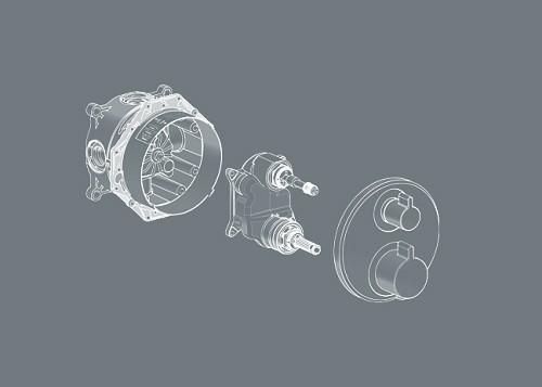 Внутренние механизмы для смесителей