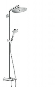 Душевая система Hansgrohe 26792000 Croma Select 280 Air 1jet Showerpipe
