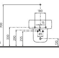 Ideal Standard Mark Newson T505801 Подвесное биде