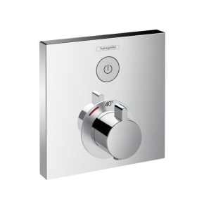 Смеситель Hansgrohe ShowerSelect Highfow 15762000 Термостат для душа