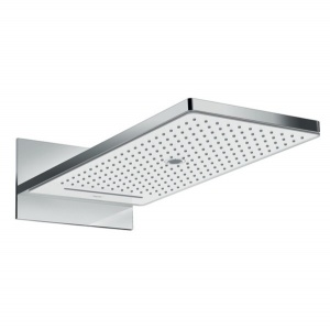 Верхний душ 24001400 Hansgrohe Rainmaker Select 580 (белый, хром)