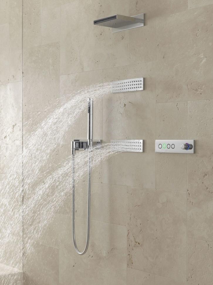 dornbracht vertical shower 41 280 979 just rain. Black Bedroom Furniture Sets. Home Design Ideas