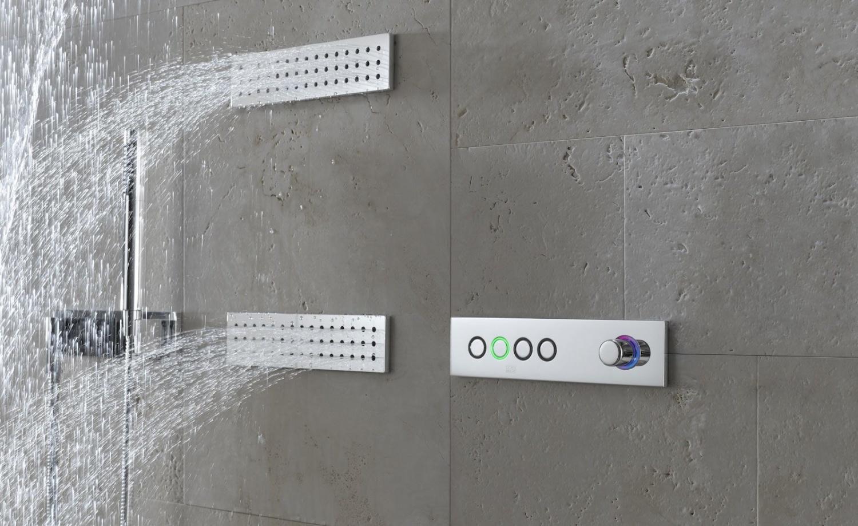 dornbracht transforming water vertical shower 41280979. Black Bedroom Furniture Sets. Home Design Ideas