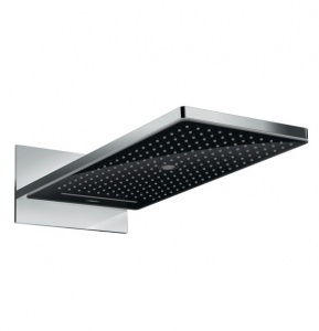Верхний душ 24001600 Hansgrohe Rainmaker Select 580 (черный, хром)
