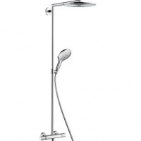 Душевая система 27114000 Hansgrohe Raindance Select 300 Showerpipe с термостатом