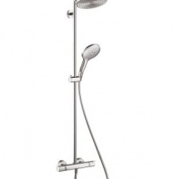 Душевая система 27115000 Hansgrohe Raindance Select 240 Showerpipe с термостатом