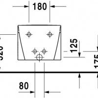 Биде подвесное Duravit Starck 2 22711500001 jika мебель ванная
