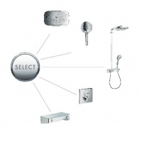 Hansgrohe Raindance Select E 300 3jet Showerpipe 27127400 Душевая система