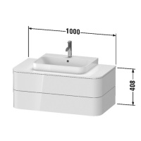 Столешница для мебели HP031E08080 Duravit Happy D.2 Plus