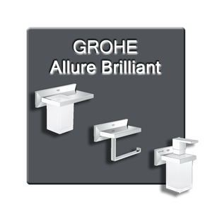 Аксессуары для ванной GROHE Allure Brilliant